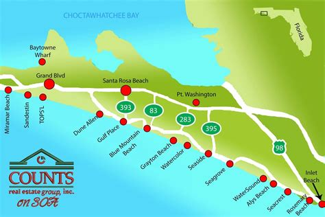 30a map panama city homes and condos for sale highway 30 a