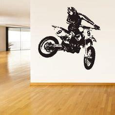 dirt bike wall stickers 1000 ideas about dirt bike bedroom on bike