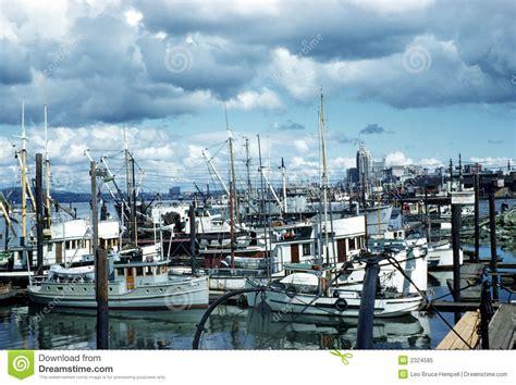 Fishing Boats Vancouver British Columbia Canada Royalty