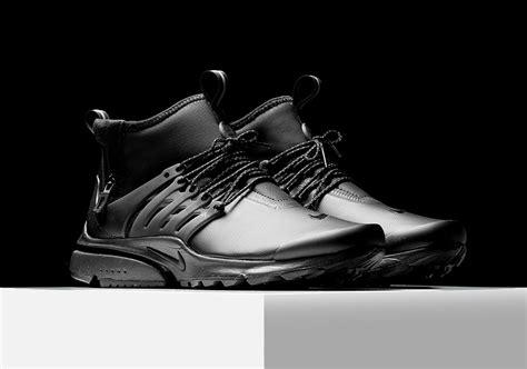 Nike Presto Utility Mid Grey nike air presto mid utility black 859524 003