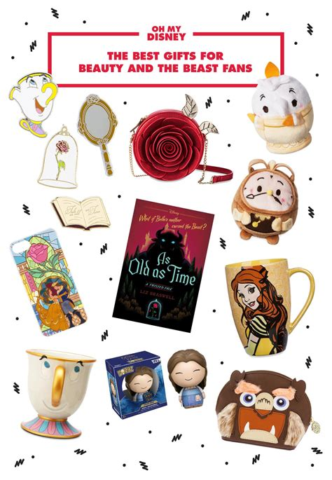 gifts for disney fans gift guide the best gifts for beauty and the beast fans