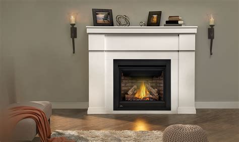 gas fireplace mantels