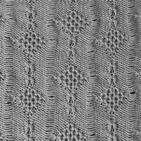 machine knit lace tuck lace stitch pattern for machine knitting kin 625