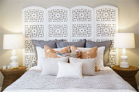 Screen Headboard by Folding Screen As Headboard H