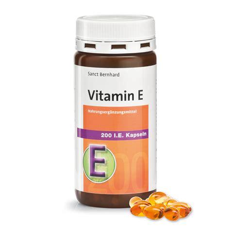Vitamin E vitamin e 200 i e capsules kr 228 uterhaus sanct bernhard