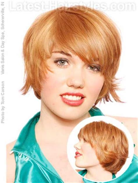 10 layered bob haircuts for round faces bob hairstyles layered bob round face www imgkid com the image kid