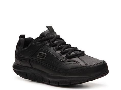 skechers work forge slip resistant sneaker dsw