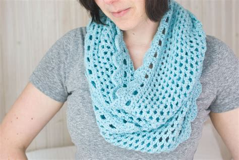 simple pattern infinity scarf crochet infinity scarf free pattern