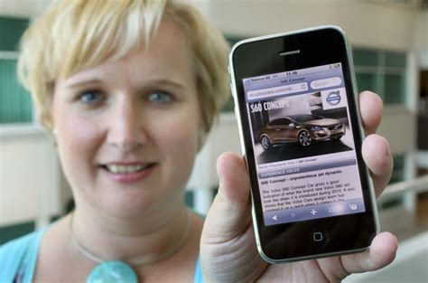 volvo international site volvo s international mobile site spreads fast autoevolution