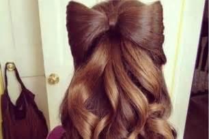15 hair bow hairstyles for sheideas