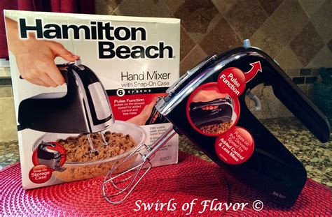 Snap On Giveaway - hamilton beach 6 speed hand mixer with pulse and snap on case giveaway hamiltonbeach