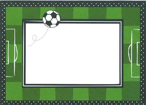 imagenes reales y virtuales invitaciones de cumplea 241 os de futbol para imprimir gratis