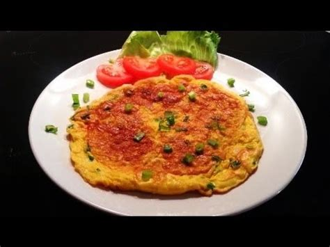 cara membuat oyster omelet how to make an omelette cara membuat telur dadar youtube