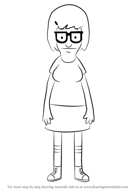 bob s burgers coloring book books learn how to draw tina belcher from bob s burgers bob s