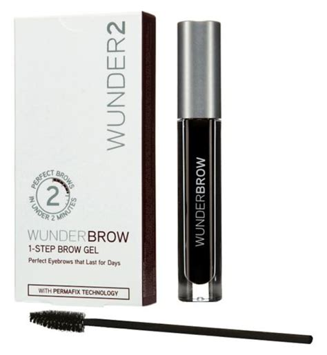 Wunderbrow 1 Step Brow Gel Jet Black Ready Stock search results