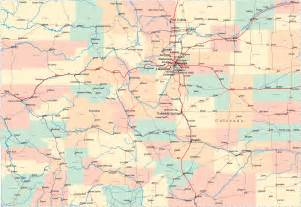 colorado road map co road map colorado highway map