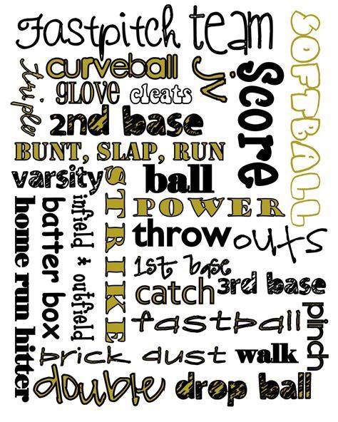 Printable Softball Quotes | printable softball quotes quotesgram