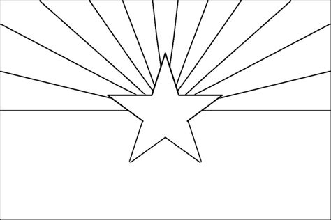 Arizona Flag Coloring Page arizona flag coloring page purple