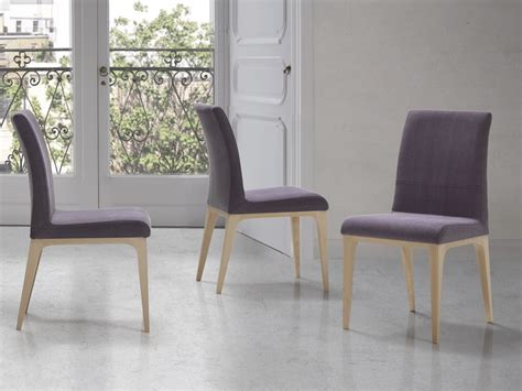 Cintia Set set of 2 upholstered chairs made in beech wood mod cintia