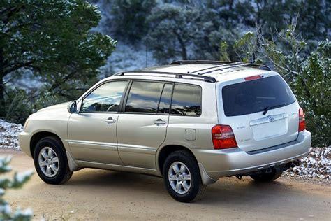 2002 toyota highlander overview cars com