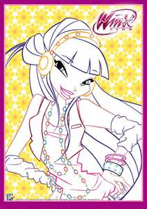 winx club mythix coloring pages viewing gallery