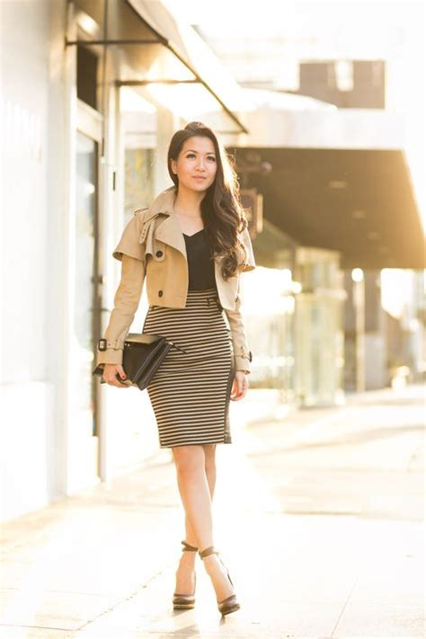 Cropped Trench Coats Stylecrazy A Fashion Diary by Best 25 Skirt Ideas On Suede