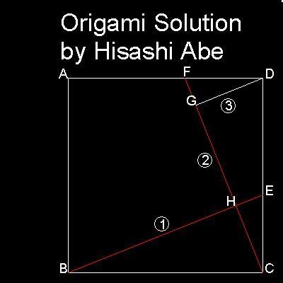 Origami Solutions - origami process prepare a square of paper