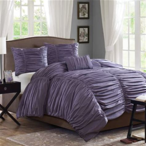 madison park delancey comforter set buy plum bedding sets queen from bed bath beyond