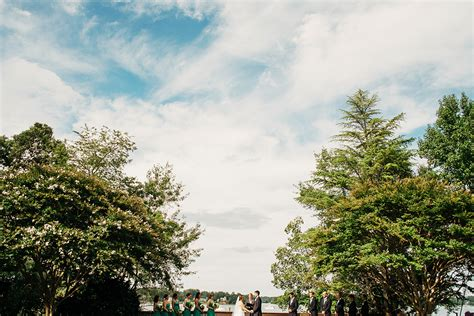 historic town and gardens wedding