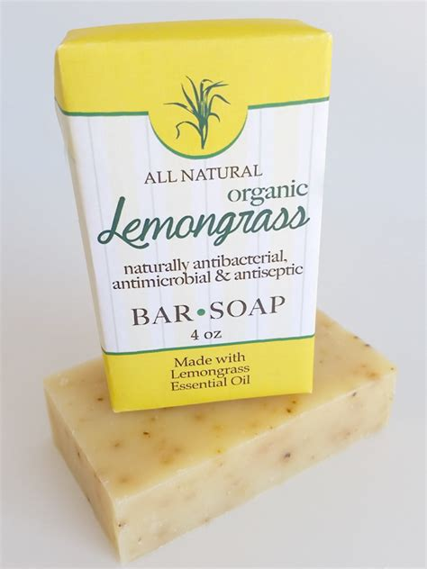 Country Soap Co by Lemongrass Bar Soap 4oz Amish Country Soap Co