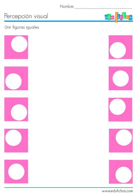 imagenes percepcion visual para niños hojas de trabajo de percepci 243 n visual fichas de
