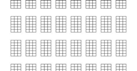 printable blank ukulele chord chart ukeonomics blank ukulele tabs and chord charts