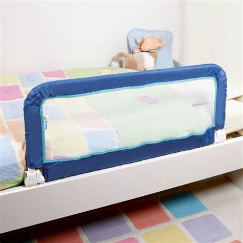 lit avec barriere securite safety 1st barri 232 re de lit portable bleu bleu achat