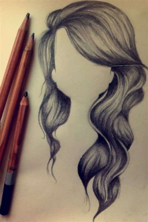 drawing curly hair speed drawing wavy hair youtube