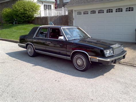 86 Chrysler New Yorker 1986 chrysler new yorker information and photos momentcar