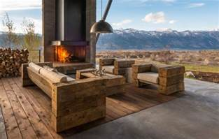 rustic patio furniture 40 patio furniture designs ideas design trends