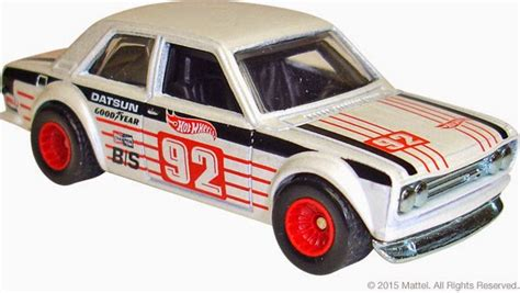 Wheels Datsun Bluebird 510 Heritage Real Riders Ban Karet minicars 2015 wheels heritage line loaded with nostalgic nissans japanese nostalgic car