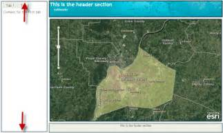 arcgis javascript layout user interface creation made easy with arcgis server