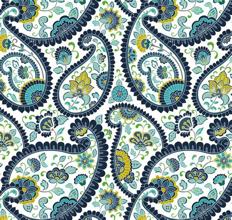 traditional paisley floral pattern textile rajasthan