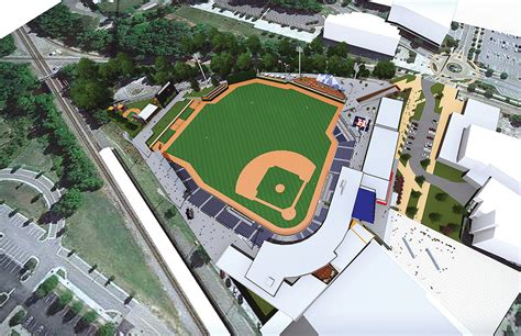 Home Design Concepts Fayetteville Nc by Baseball Stadium Entertainment Venue Project