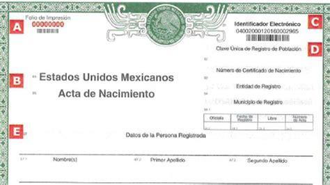 puedo obtener una copia de un certificado de nacimiento formato 218 nico de acta de nacimiento