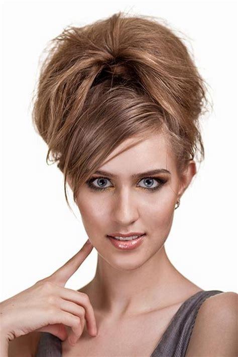 Hochzeitsfrisur Wenig Haare by Einfache Hochsteckfrisuren Mittellanges Haar