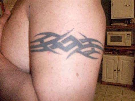 tribal band tattoos for men two important things about design for arms tribal