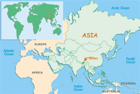 map of bhutan in world map map of china in bhutan pictures to pin on