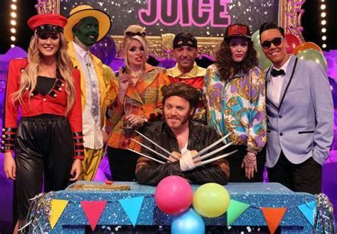 celebrity juice guests tomorrow fearne cotton and holly willoughby channel ab fab s edina