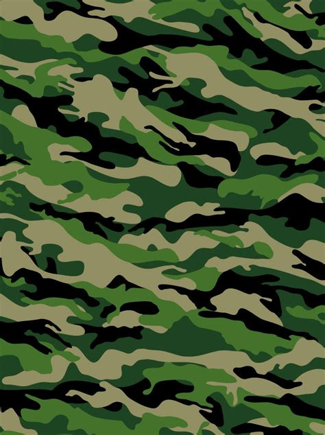 Army Pattern Free Vector | military pattern vector