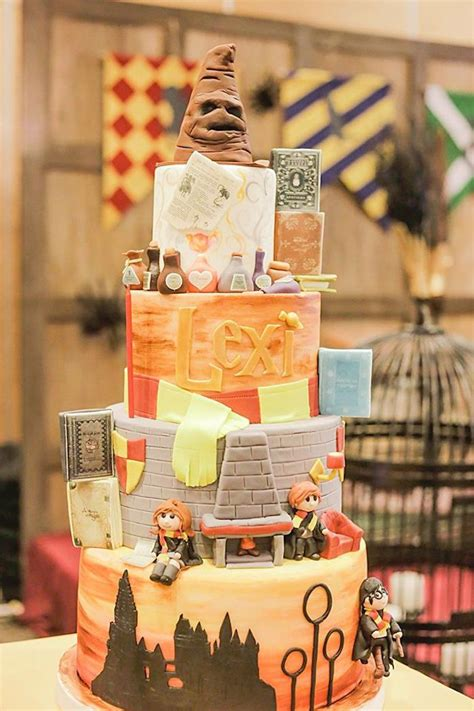 Hogwarts Acceptance Letter Philippines Cake From A Harry Potter Birthday Via Kara S Ideas Karaspartyideas The Place