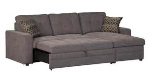 Sectional Sofa Pull Out Bed Charcoal Black Sectional Sofa Storage Chaise And Pull Out Bed Chenille Ebay