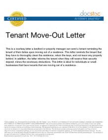 tenant letter template best photos of sle letters notice moving out move out