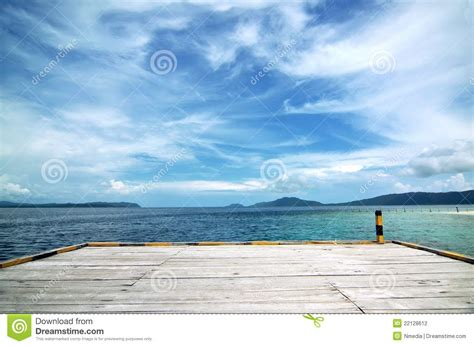 dream of empty boat an empty boat dock background stock photography image